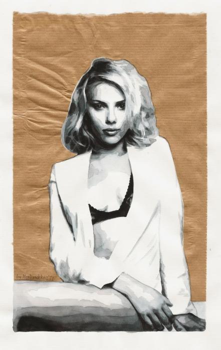 Scarlett Johansson par Estherproductos